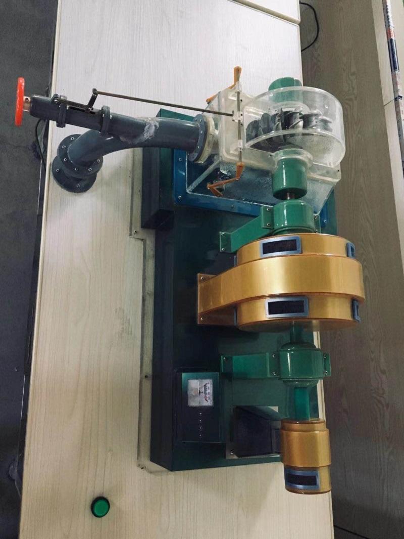 水斗式水轮机模型、制作方案及实物照片