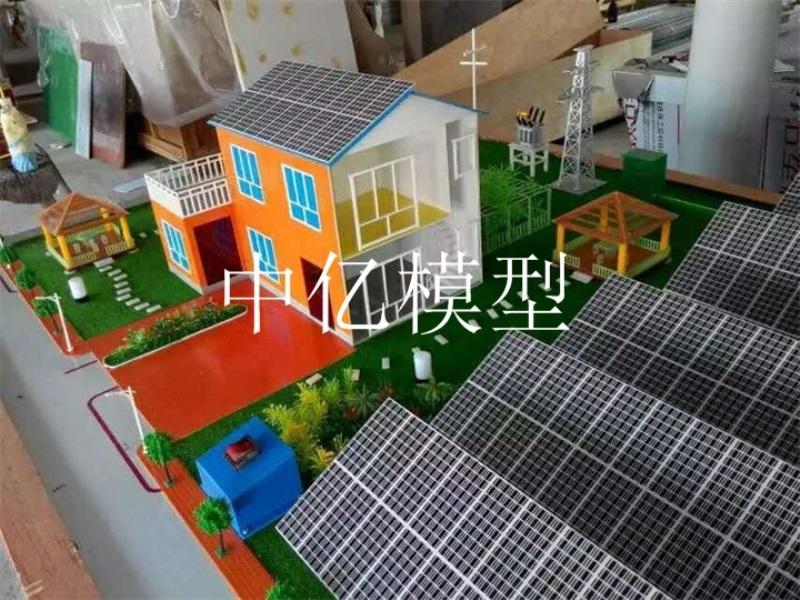 太阳能发电模型