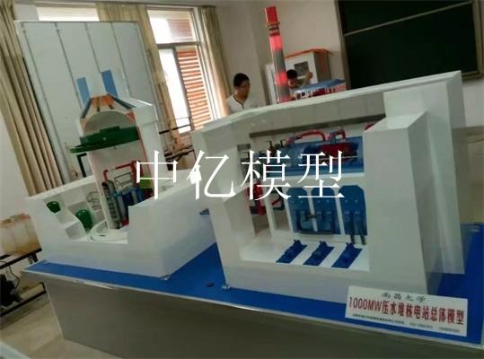 1000MW压水堆核电总体模型