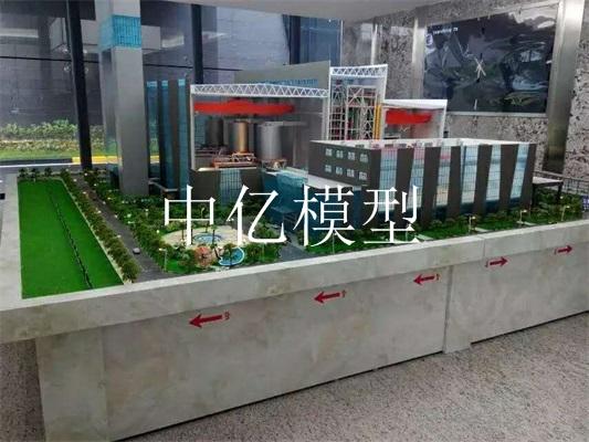 东莞横沥垃圾发电厂模型