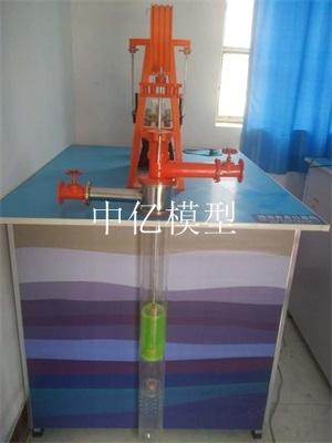 控油井井口装置模型