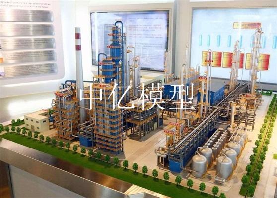 炼油厂沙盘模型