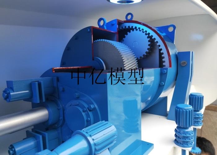 风力发电增速箱模型