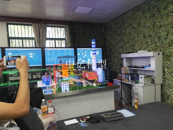 供应浙江大学-300MW火力发电厂模型