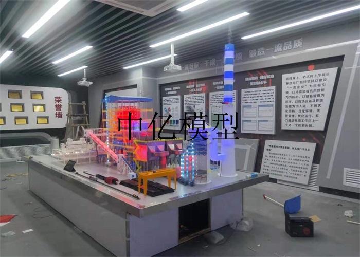 长春华能热电厂-350MW火力发电厂模型