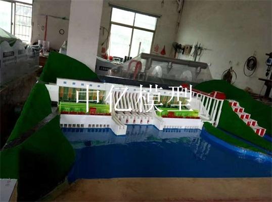 水利发电机组模型