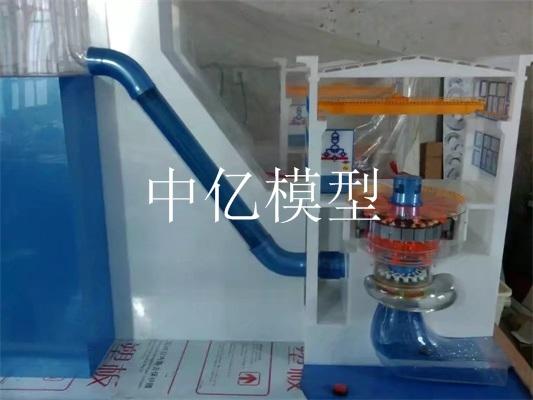 混流式水轮发电机组模型