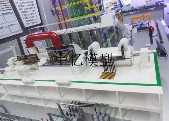 长春华能定制-350MW汽轮机模型
