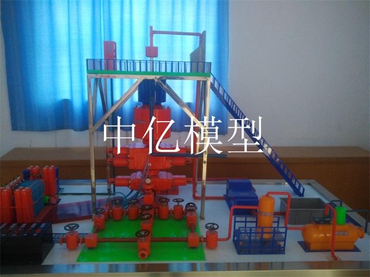 石油开采防喷器模型